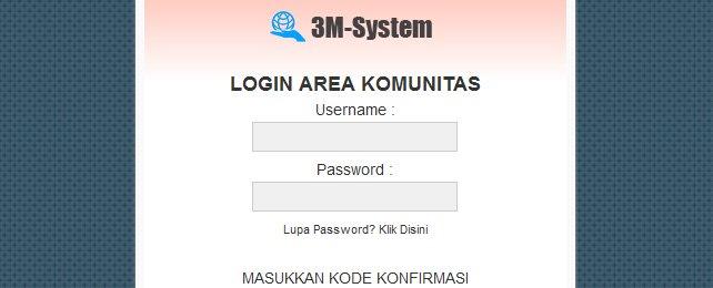 Jasa Pembuatan Web Support 3M System