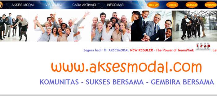 Jasa Pembuatan Web Support Akses Modal Indonesia