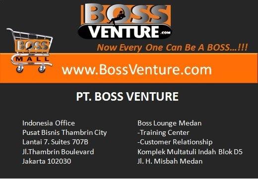 Jasa pembuatan Web Support BossVenture