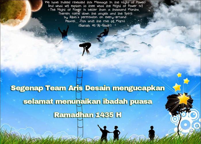 Wallpaper Ucapan Selamat Ramadhan 10