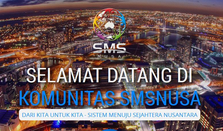 Jasa Pembuatan Web Support SMSNUSA