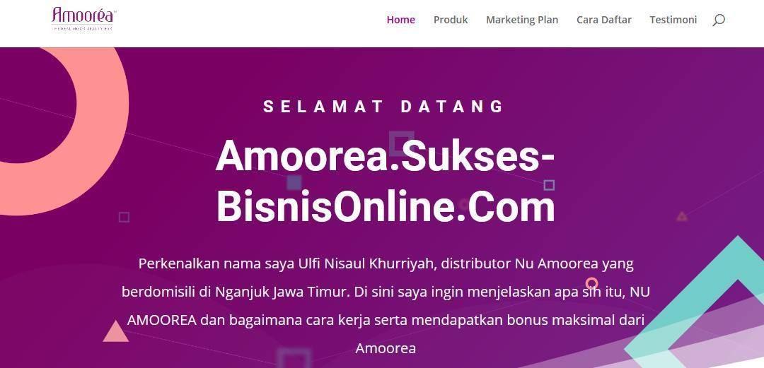 www.amoorea.sukses-bisnisonline.com