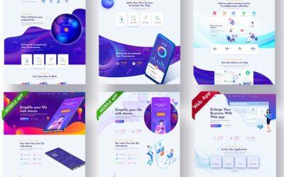 Jasa Pembuatan Landing Page Murah Desain Profesional dan Elegan